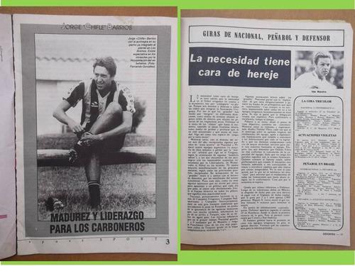 revistas deportes-fútbol, nacional,peñarol-basquet,olimpia-r