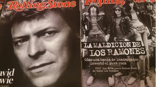 revistas rolling stone. números en descripción