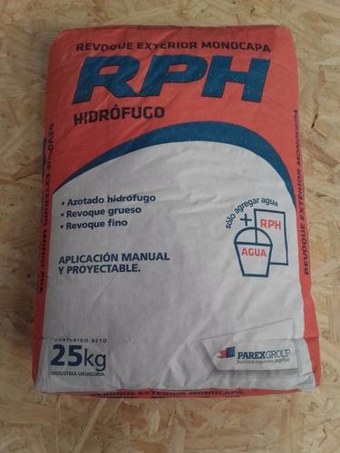 revoque exterior monocapa hidrófugo
