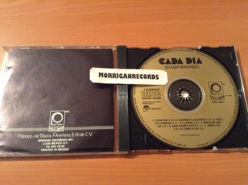 ricardo montaner cada día  cd album