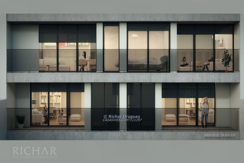 richar uruguay ~ 1 dormitorio, piso 4, moderno