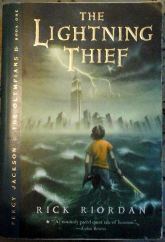 rick riordan, the lightning thief. english version, 1st ed.