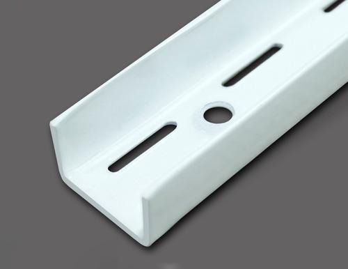 rieles metálicos para ménsulas 140cm de largo