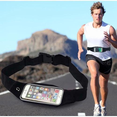 riñonera para hacer deportes caminar correr con el celular ®
