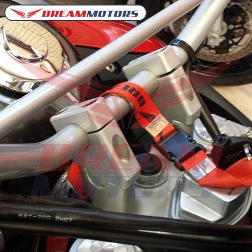 riser 45º adaptador guidão v-strom gsx bandit 650 1250 prata