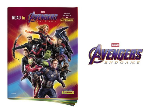 road to avengers end game - 50 sobres + album obsequio