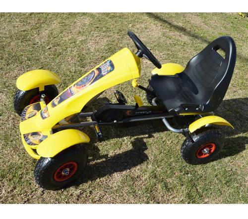 rodados infantiles kart a pedal con guardabarros