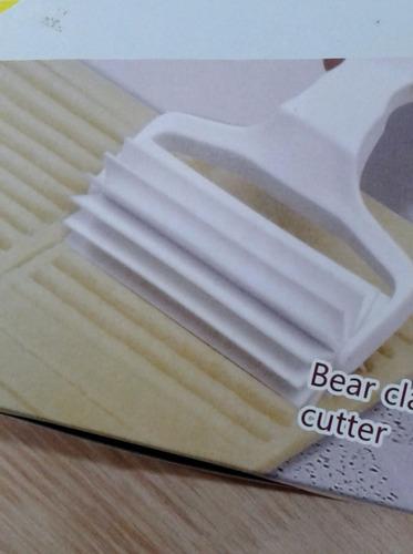 rodillo corte garra de oso para masas bizcochos de manteca