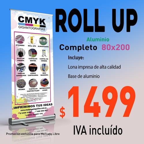 roll up,  rollup banner, lona impresa, vinilo, porta banner
