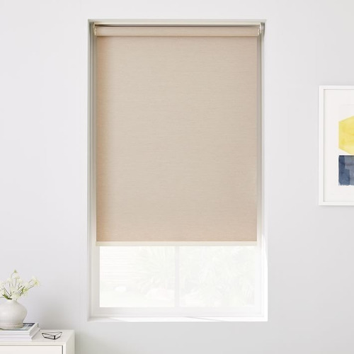 roller blackout blanco - 120 x 220