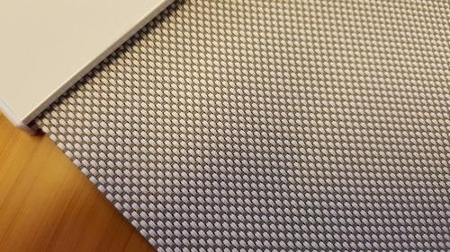 roller solar screen gris claro 90 cm x 165 cm