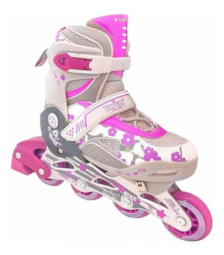 rollers extensibles bota estampada aluminio silicona el rey