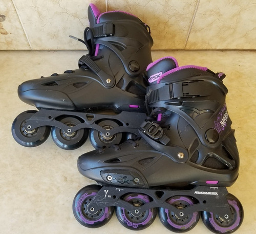 rollers powerslide imperial one con regalo - casi sin uso