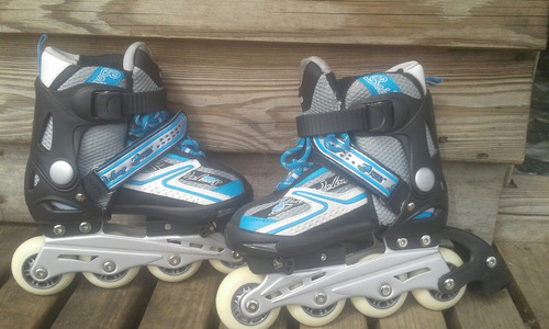 rollers talle 32/34 regulables 1 solo uso $1500
