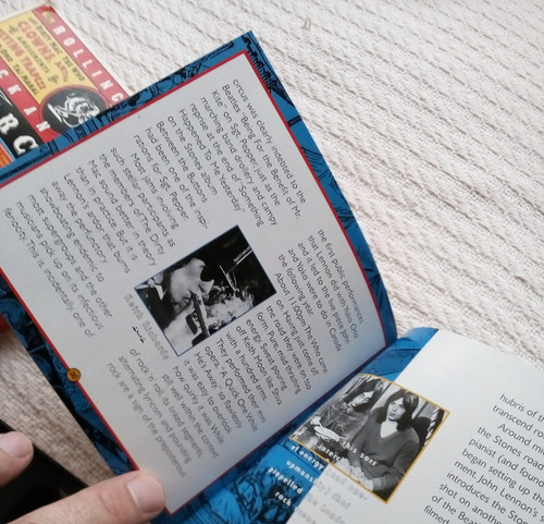 rolling stones - rock and roll circus (libro + c d ed u s a)