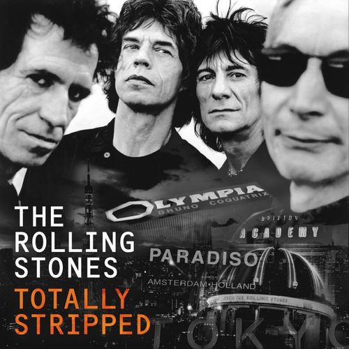 rolling stones - totally stripped - box set 1 cd + 4 blu-ray