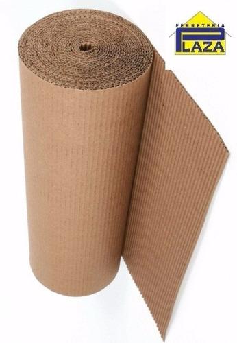 rollo cartón corrugado mudanza construcción pinturería plaza