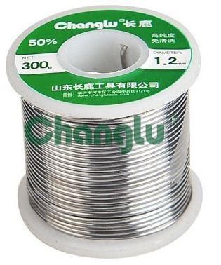rollo de estaño en fideo diametro 1.6mm 50% changlu