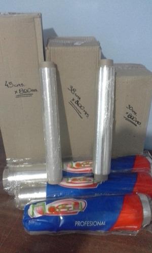 rollo papel film para el hogar -28x100 cms.