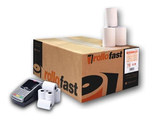 rollo papel térmico para pos 2000 - (57 mm x 19 mts)
