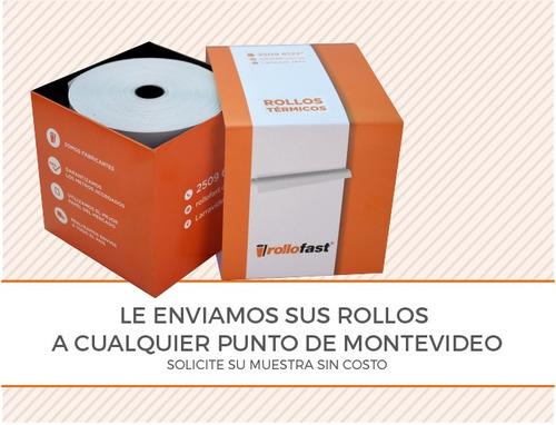 rollo papel termico para pos 2000 - envío gratis - caja 78