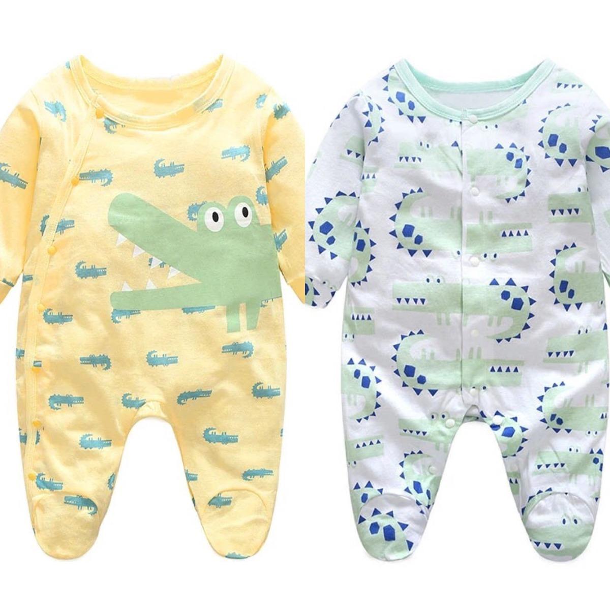75e1cc5f8 ropa bebe 3 meses - enteritos y 1 gorro a juego - cocodrilos. Cargando zoom.