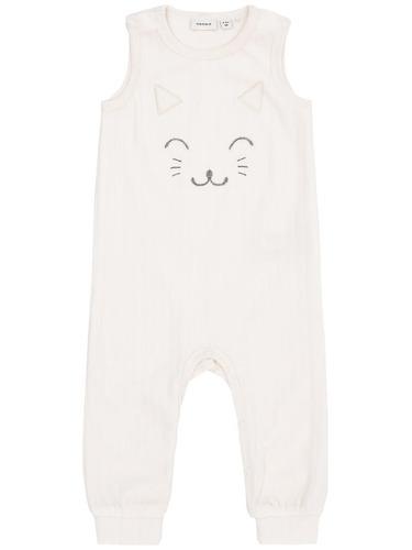 ropa de bebe polka enterito plush crudo (piel de durazno)