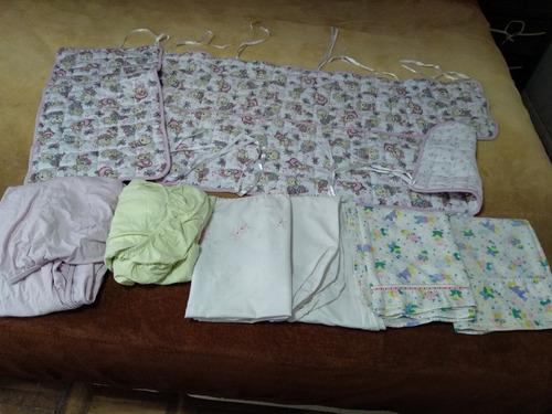 ropa de cuna de niña