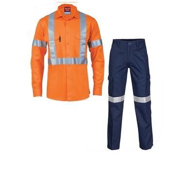 ropa de trabajo conjunto pantalòn camisa dalvy