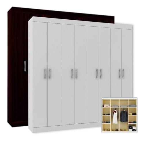ropero placard armario 8 puertas dormitorio