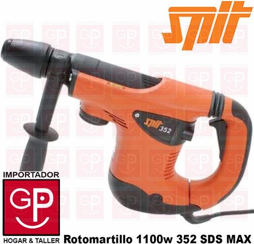 rotomartillo 45mm 1100w  sds max  spit  352