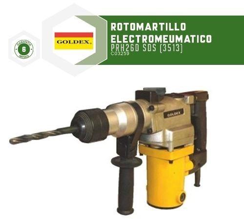 rotomartillos electroneumatico goldex prh26d sds - fama