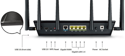 router asus rt-ac3200 wireless-ac3200 tri-band wireless