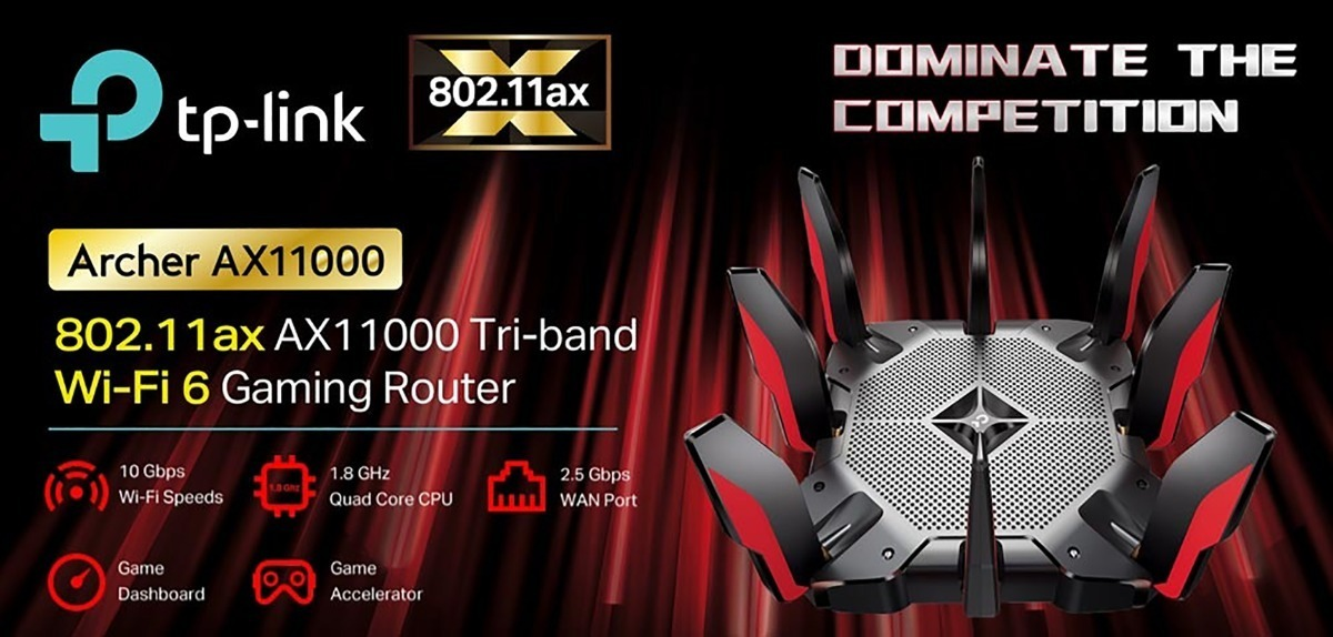 Router Gamer Inalámbrico Tp-link Archer Ax11000 Tri Band - U$S 606 ...