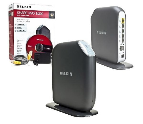 router inalámbrico belkin n+ share max n300