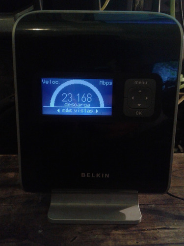 router inalambrico belkin n1 vision lcd vendo permuto