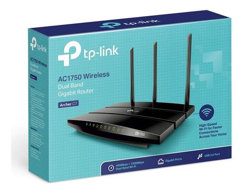 router inalámbrico tp-link archer c7 ac1750 doble banda