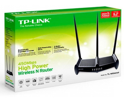 router wifi tp-link 941hp 450mbps atraviesa paredes