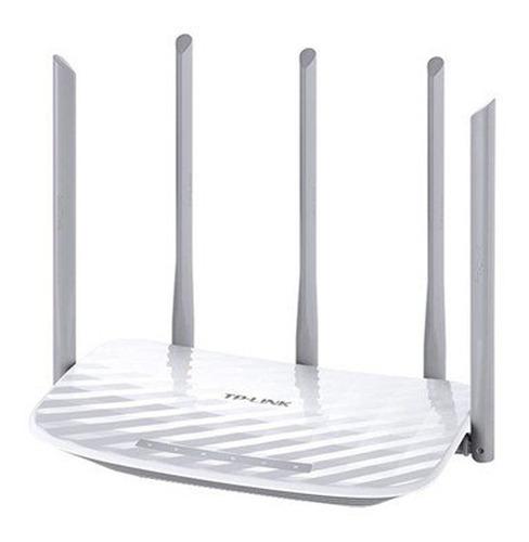 router wifi tp-link archer c60 dual 867mbps 5 antenas ub