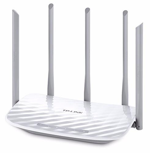 router wifi tp link archer c60 dual band 5 antenas potentes
