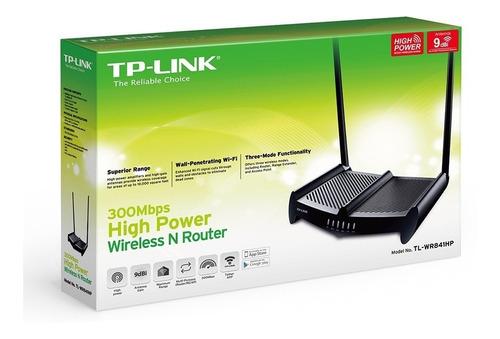 router wifi tp link repetidor alta potencia rompe muros 9db