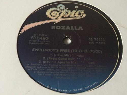 rozalla everybodys free vinilo maxi