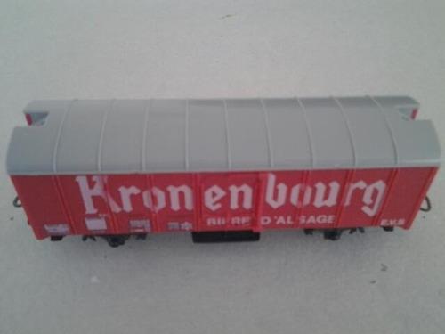ruca vagon cerrado refrigerado cervecero lima h0 con caja