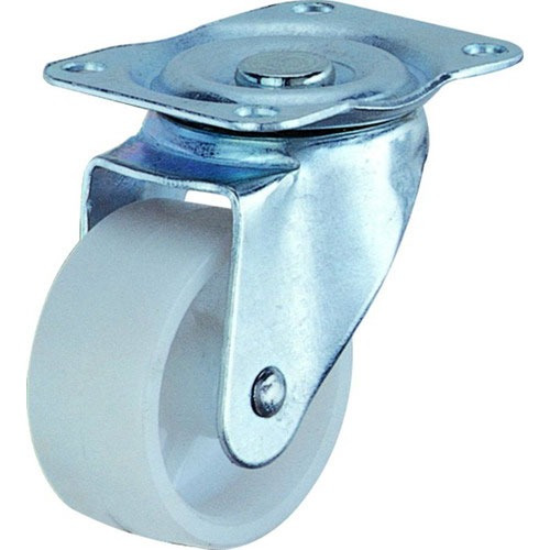 rueda 25mm polipropileno blanco giratoria essen