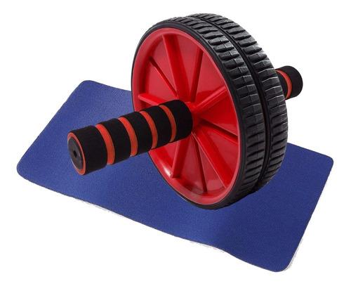 rueda ab wheel para abdominales y brazos c/ alfombra oferta