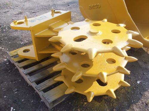rueda compactadora pata de cabra para excavadora