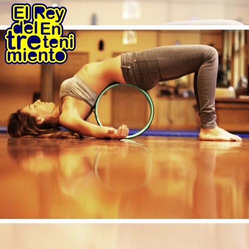 rueda rodillo para yoga y pilates rolo gym fitness - el rey