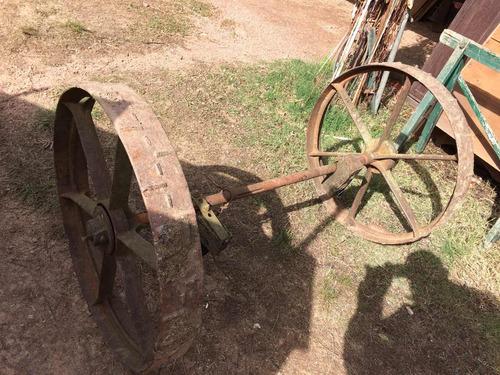 ruedas antiguas