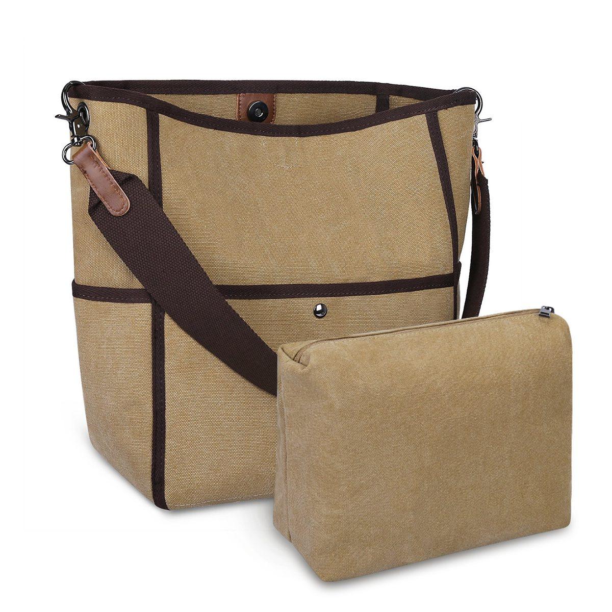 5685021ce s-zone bolso de lona para mujer bolso informal bolso de m. Cargando zoom.