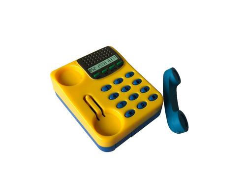 sacapunta y goma de borrar telefono